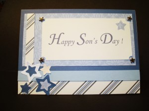 June 30th is Son's Day at our House!