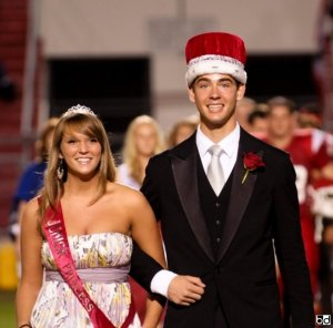 Homecoming Game Prince and Princess.