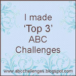 ABC challenge badge top3