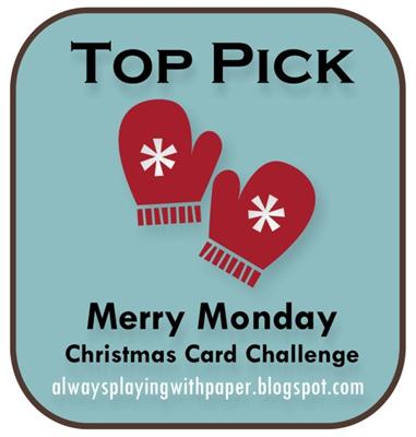 Winner Badge for Merry Monday