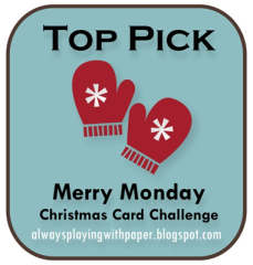 Winner Badge for Merry Monday