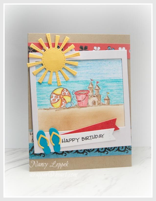 Beachy Birthday Images